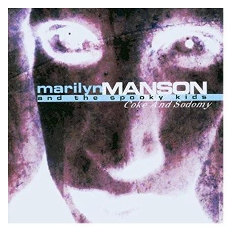 CD MARILYN MANSON-COKE AND SODOMY