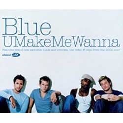 CD BLUE-U MAKE ME WANNA