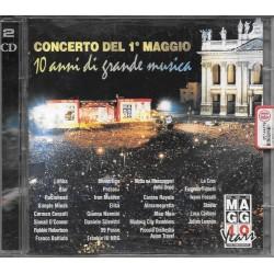 CD CONCERTO 1 MAGGIO-10 ANNI DI GRANDE MUSICA