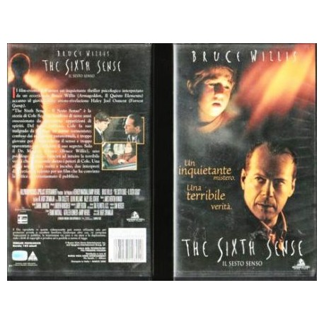 VHS THE SIXTH SENSE IL SESTO SENSO