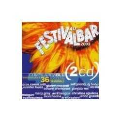 CD FESTIVALBAR 2003 COMPILATION BLU'