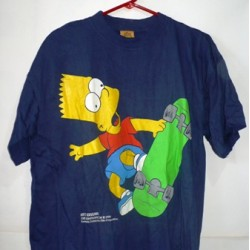 T-SHIRT THE SIMPSON SKATE
