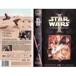 VHS STAR WARS LA MINACCIA FANTASMA