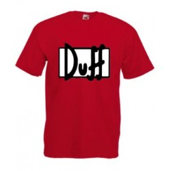 T-SHIRT DUFF BEER SIMPSON