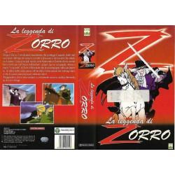 VHS LA LEGGENDA DI ZORRO
