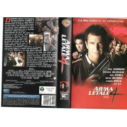 VHS ARMA LETALE 4