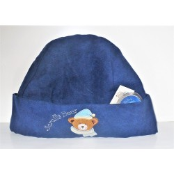 CAPPELLO IN PAIL BLU' SCRUFFY BEAR