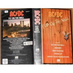 VHS AC/DC FLO ON THE WALL