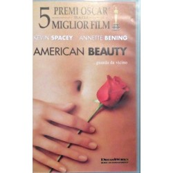 VHS AMERICAN BEAUTY... GUARDA DA VICINO