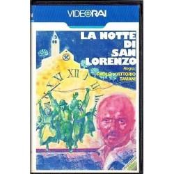 VHS LA NOTTE DI SAN LORENZO