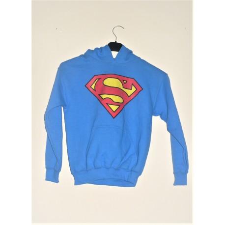 FELPA CON CAPPUCCIO SUPERMAN