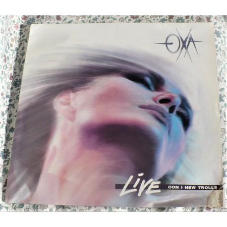 "LP ANNA OXA "" LIVE CON I NEW TROLLS"