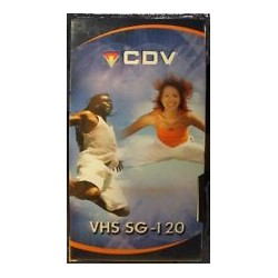 CDV VHS SG-120 - KIT 4 CASSETTE NUOVE SIGILLATE - Durata 120 minuti