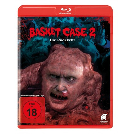 "DVD BLU-RAY "" BASKET CASE 2 fsk18"