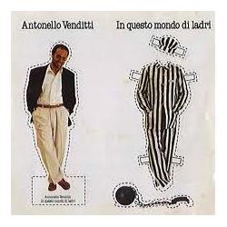 LP ANTONELLO VENDITTI - IN QUESTO MONDO DI LADRI -
