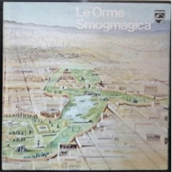 LE ORME SMOGMAGICA LP MINT-- GATEFOLD IPOSTER 1975