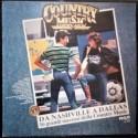 DISCO LP 33 GIRI DA NASHVILLE A DALLAS COUNTRY MUSIC