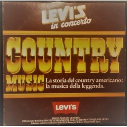 LEVI'S IN CONCERTO COUNTRY MUSIC (disco LP 33° giri)