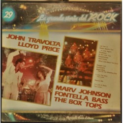 John Travolta BOX Tops Fontella Bass LA GRANDE STORIA DEL ROCK VOL. 29 RARO LP