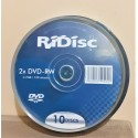 RIDISC DVD-RW CAMPANA 10 PZ.