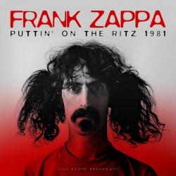 LP FRANK ZAPPA - PUTTIN  ' ON THE RITS 1981