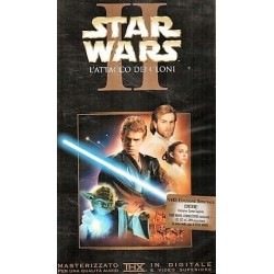 VHS STAR WARS 2 L'ATTACCO DEI CLONI