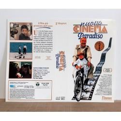 SOLO COPERTINA FASCETTA COVER - NUOVO CINEMA PARADISO - NO VHS ,DVD