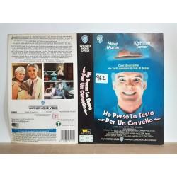 SOLO COPERTINA FASCETTA COVER - HO PERSO LA TESTA PER UN CERVELLO- NO VHS ,DVD