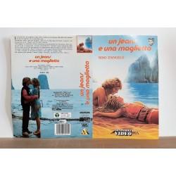 SOLO COPERTINA FASCETTA COVER - UN JEANS E UNA MAGLIETTA - NO VHS ,DVD