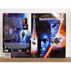 SOLO COPERTINA FASCETTA COVER - SUPERNOVA - NO VHS ,DVD
