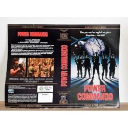 SOLO COPERTINA FASCETTA COVER - POWER COMMANDO - NO VHS ,DVD