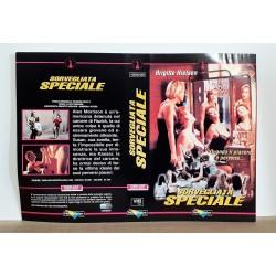 SOLO COPERTINA FASCETTA COVER - SORVEGLIATA SPECIALE - NO VHS ,DVD