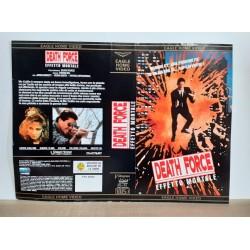 SOLO COPERTINA FASCETTA COVER - DEATH FORCE EFFETTO MORTALE - NO VHS ,DVD