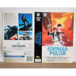 SOLO COPERTINA FASCETTA COVER - ENERGIA PULITA - NO VHS ,DVD