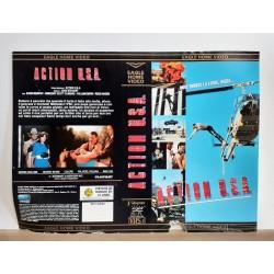 SOLO COPERTINA FASCETTA COVER - ACTION U.S.A. - NO VHS ,DVD